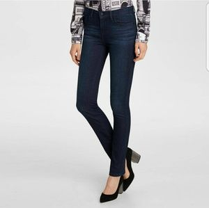 Karl Lagerfeld Paris Skinny Denim Dark Wash Jeans